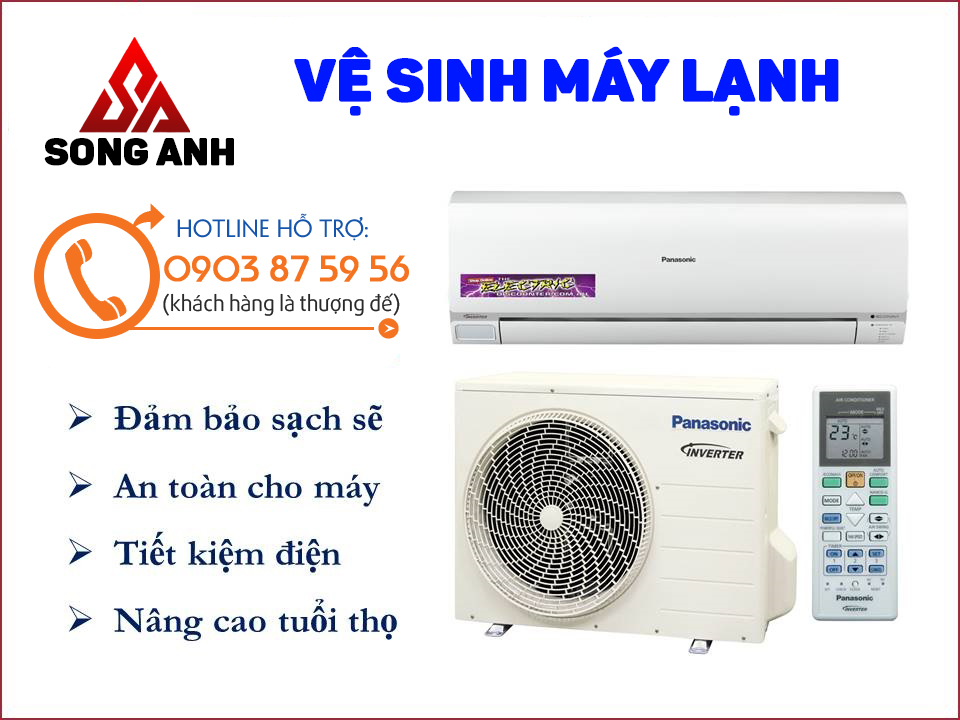 Ve Sinh May Lanh Song Anh