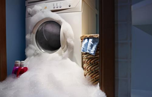 Những rắc rối thường gặp khi sử dụng máy giặt - 1