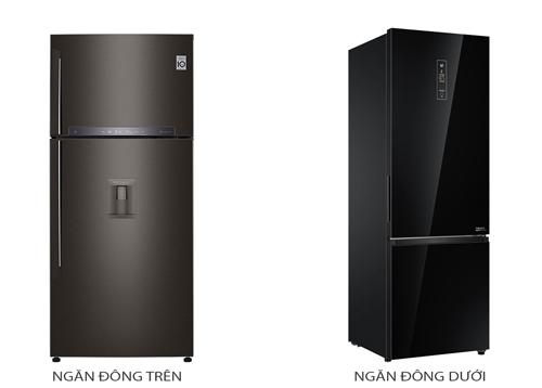 Tủ lạnh ngăn đông trên khác gì ngăn đông dưới