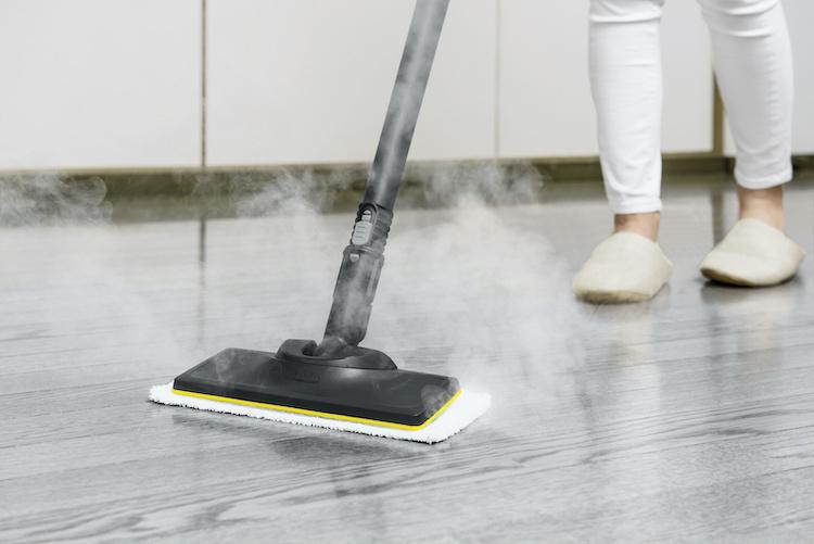 Máy có thể làm sạch nhiều loại bề mặt.