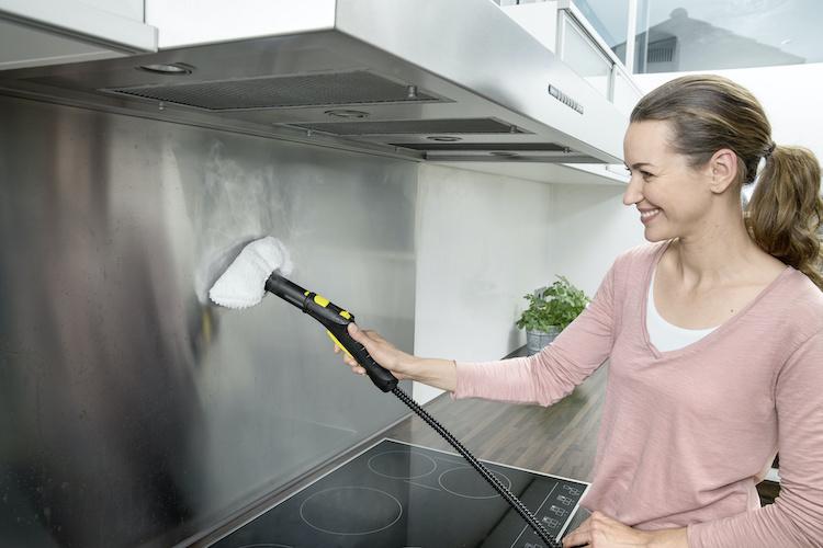 Ứng dụng công nghệ hơi nước để làm sạch nhà ở