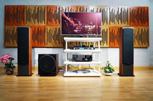 Không chỉ là thiết bị giải trí, dàn karaoke còn có vai trò như món đồ nội thất trong nhà. Ảnh: Karaokesg.