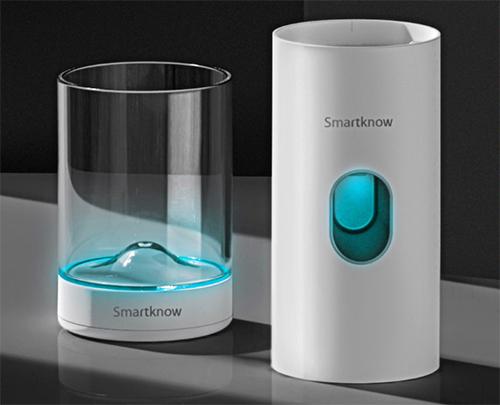 Cốc khử khuận và bộ nhả kem tự động Smartknow.
