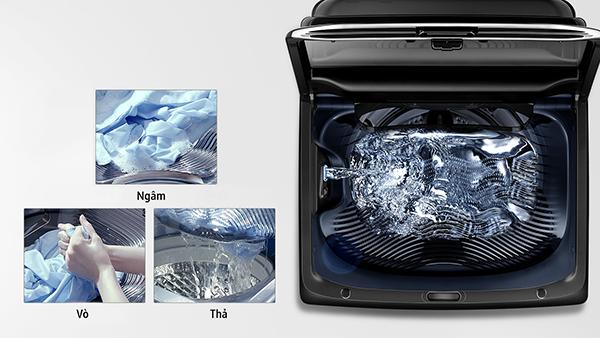 Điểm danh những công nghệ trên máy giặt lồng đứng Samsung