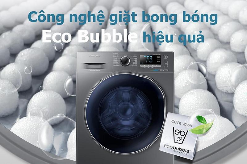 Eco Bubble giúp chăm sóc sợi vải khỏi bị hư tổn