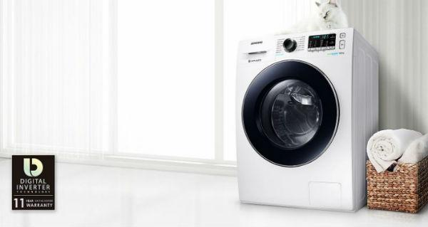 Máy giặt Samsung 9 Kg WW90J54E0BX/SV