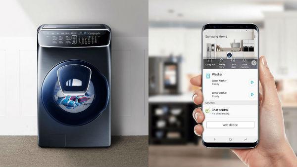 máy giặt sấy Samsung 21KG FlexWash WR24M9960KV/SV