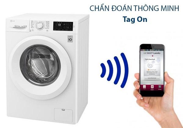 Tìm hiểu nguyên nhân trục trặc của máy giặt bằng điện thoại