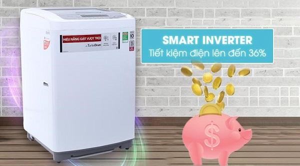 Công nghệ inverter giúp tiết kiệm điện năng tiêu thụ lên đến 36%