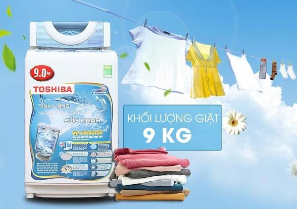 Máy giặt Toshiba nào tốt nhất cho gia đình trên 6 thành viên?