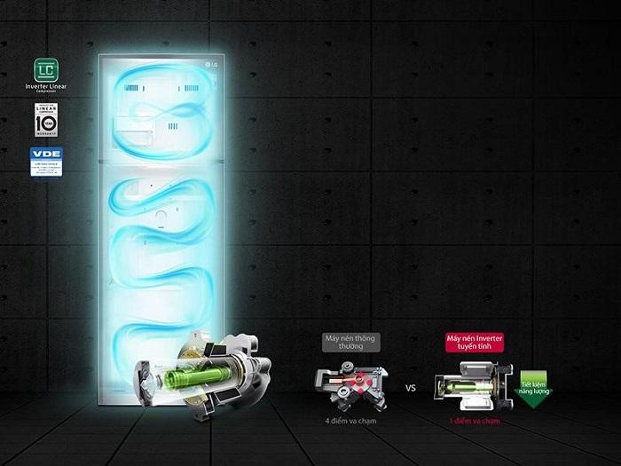 Tủ lạnh LG inverter có tốt không?