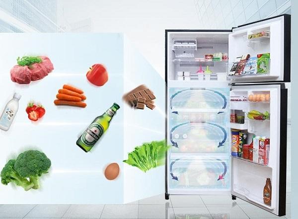 Công nghệ làm lạnh hiện đại giúp thực phẩm lạnh đều và nhanh hơn