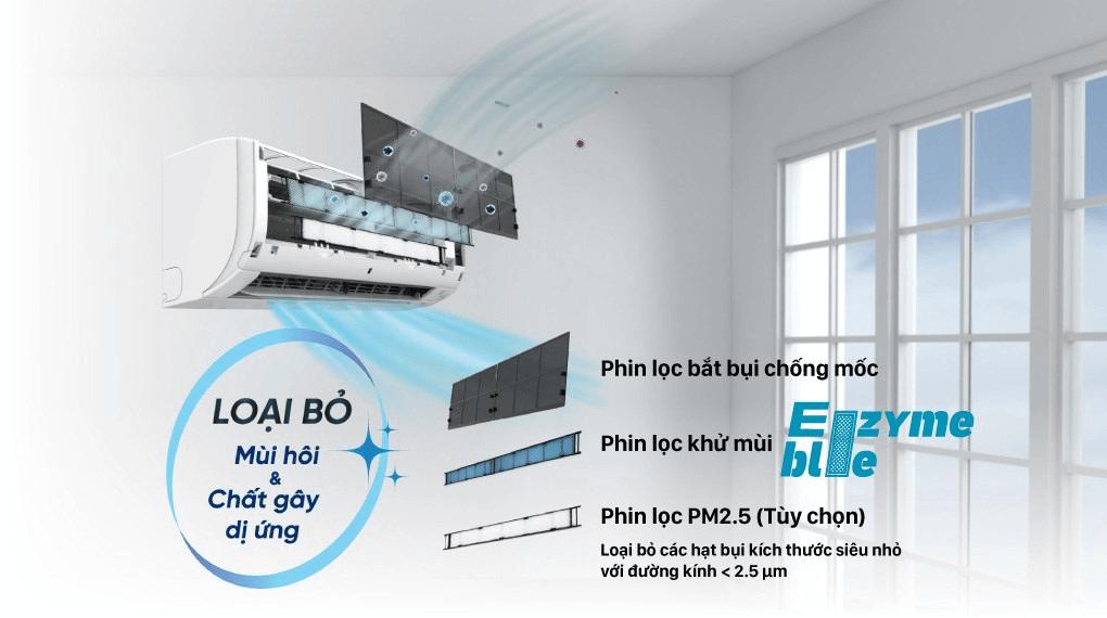 Máy lạnh Daikin Inverter 1 HP FTKA25VMVMV/RKA25VMVMV