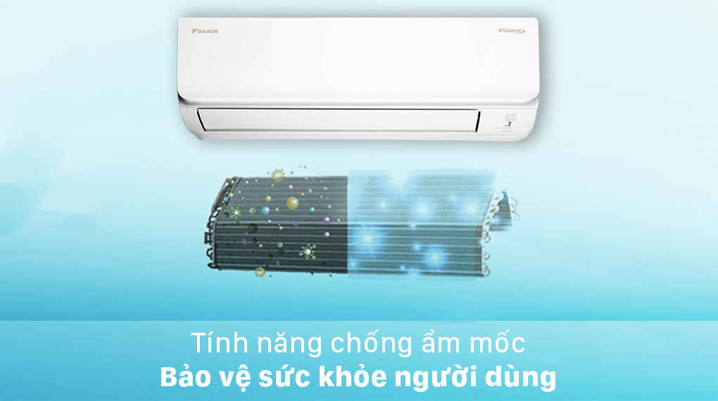 Máy lạnh Daikin Inverter 2.5 HP FTKA60UAVMV