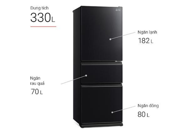 Tủ Lạnh Mitsubishi MR-CGX41EN-GBK-V